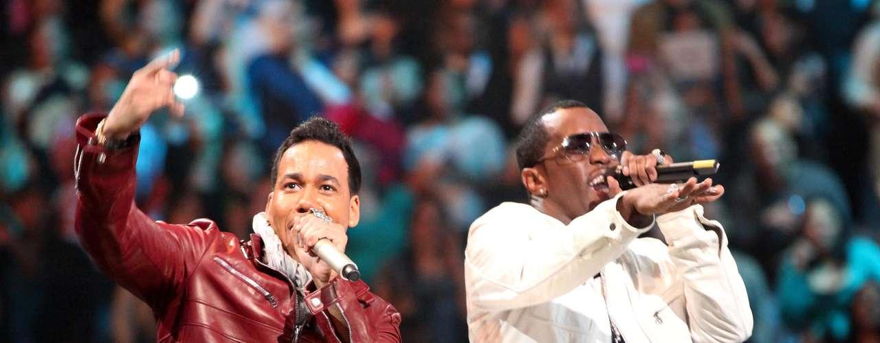 El espectáculo de Romeo estuvo lleno de sorpresas, pues tuvo como invitados a grandes estrellas de la música entre ellos Prince Royce, Usher y P. Diddy.