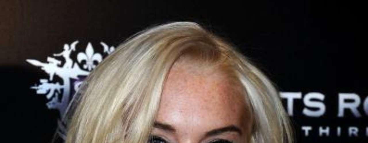 2. Lindsay Lohan. La actriz, quien recientemente celebró el final de su libertad condicional y que protagonizó diversos líos legales en este año y el año pasado, ocupa el segundo lugar de la lista de Forbes.