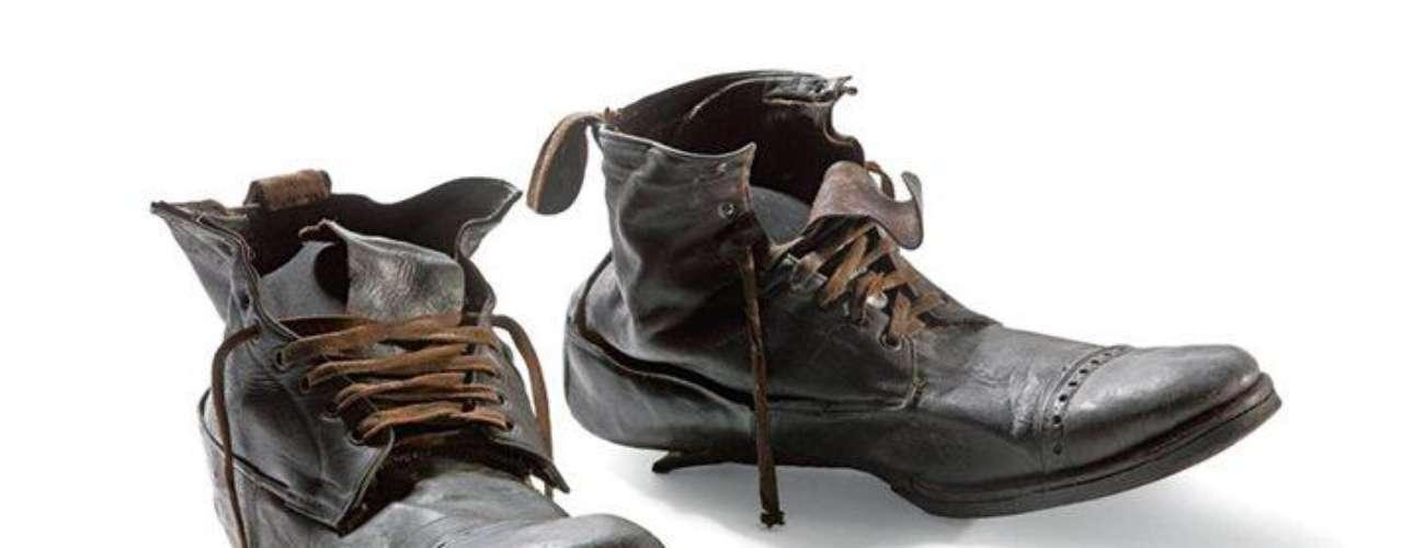 Estas botas estaban en la maleta de piel de William Henry Allen, de 35 años y mecánico de profesión. Como muchos pasajeros de tercera clase, no sobrevivió.