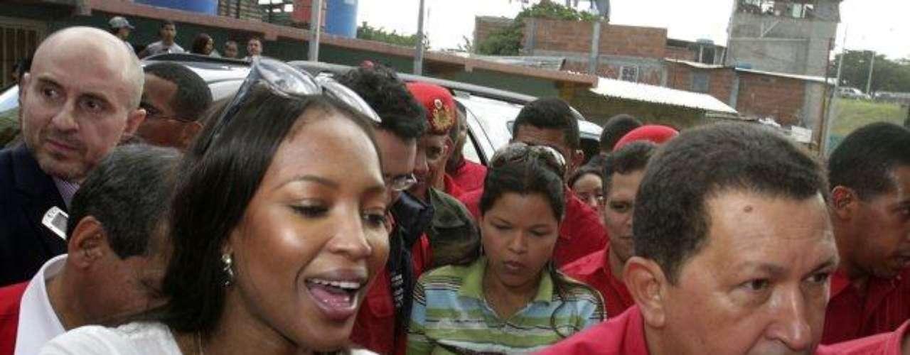Luego de su viaje a Venezuela, Campbell aseguró que \