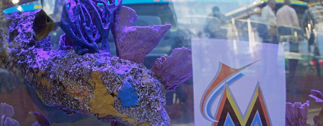 El vistoso acuario cuenta con especies exóticas.
