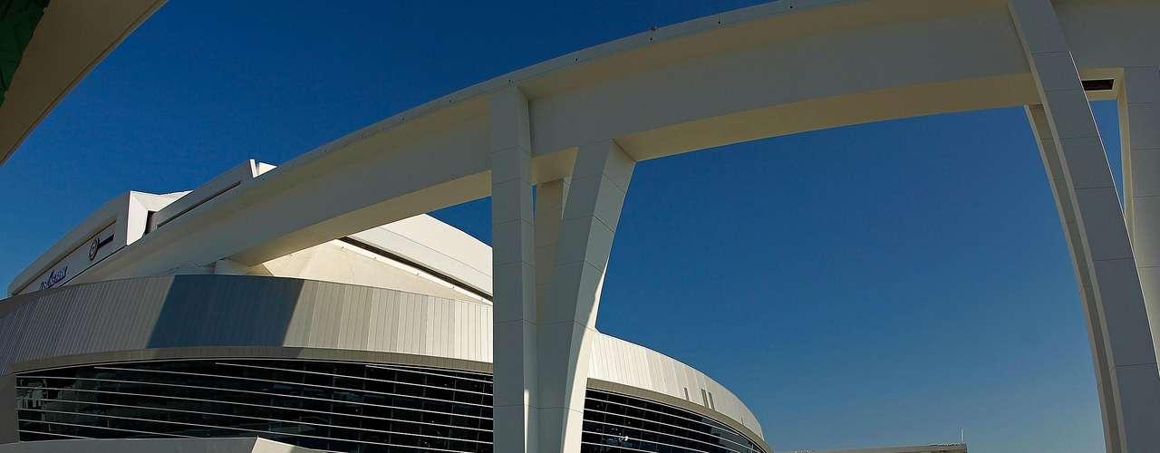 El estadio se encuentra en el sector conocido como Little Habana en el Sur de la Florida.