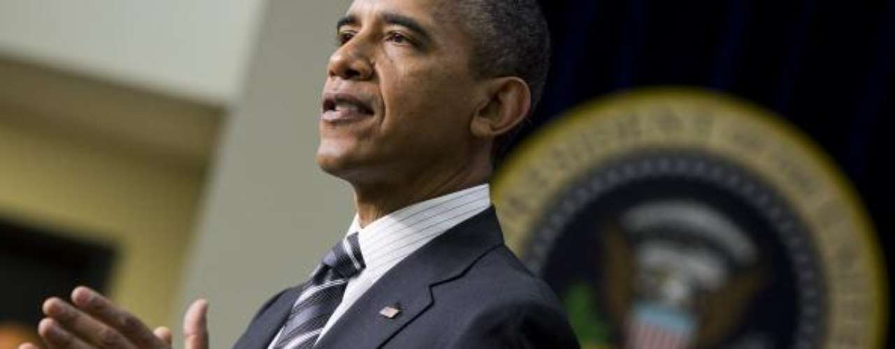 Un escalón por debajo de Brewer se ubicó el actual presidente de Estados Unidos, Barack Obama, con 25.373 votos (23.783 en contra).