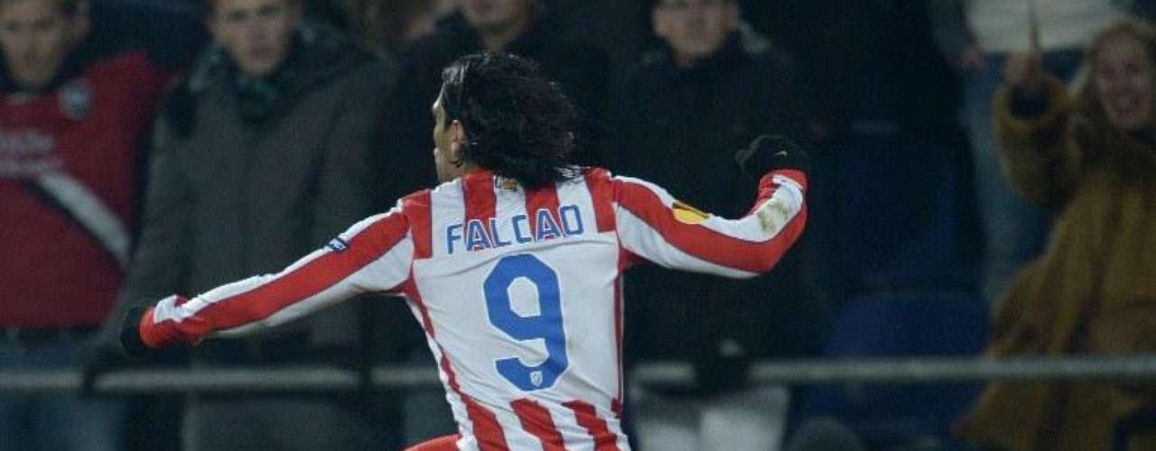 Falcao lleva ocho en la competencia y quedó con el camino libre para nuevamente quedarse con el trofeo de goleador