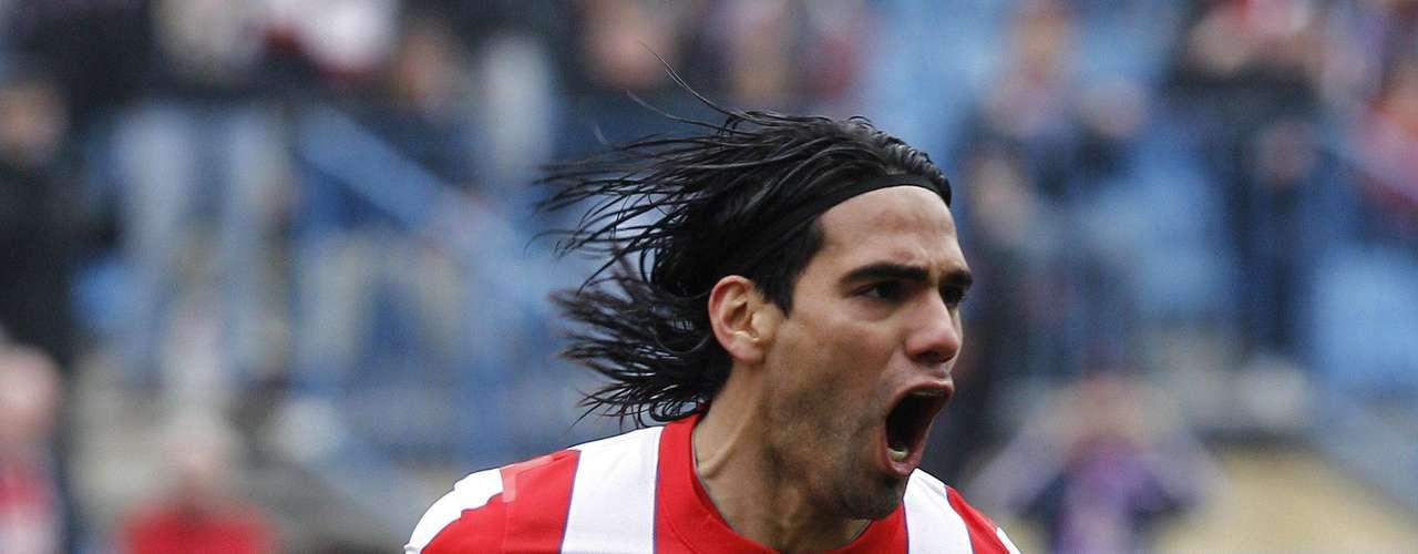 El segundo gol lo consiguió de penalti a los cinco minutos del segundo tiempo, Falcao hundía al submarino en Madrid.