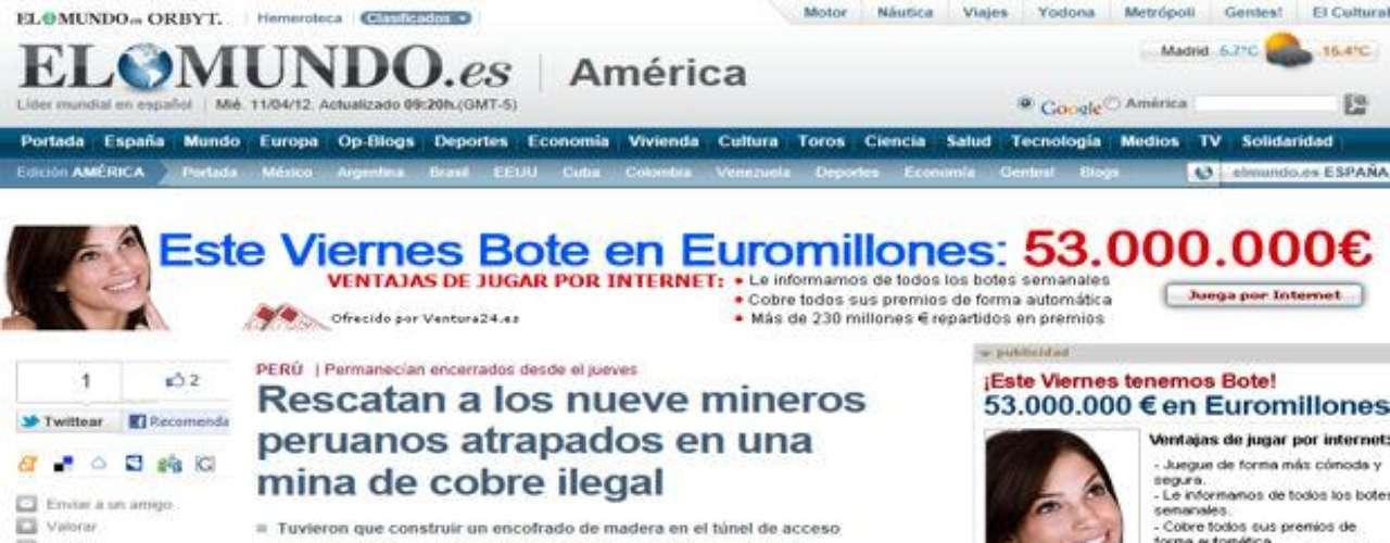 El diario español El Mundo publica un amplio informe sobre el operativo que permitió a los mineros salir con vida