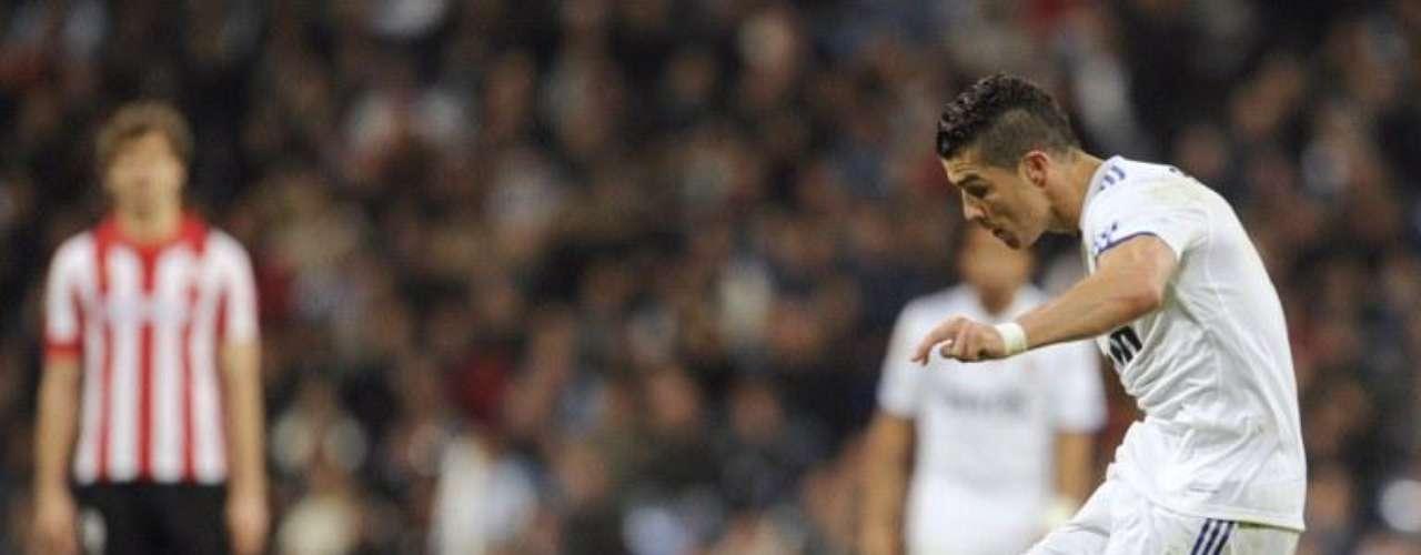 Ningún equipo al que se haya enfrentado el Real Madrid ha pasado invicto ante el poder de la pierna derecha de Ronaldo, aunque no siempre terminan en gol sus remates, se tiene confianza y suelta varios por partido