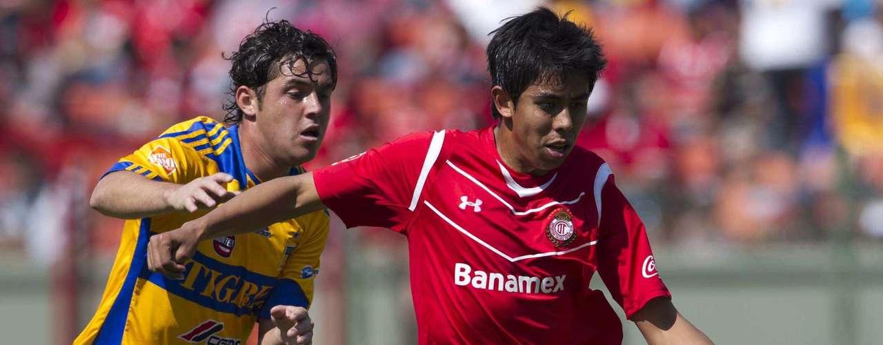 Néstor Calderón es in jugador dinámico que al igual que Lugo, puede acoplarse al esquema de Guadalajara, pero dándole respaldo con gente de experiencia, caso contrario, su éxito con el Rebaño, sería poco probable.