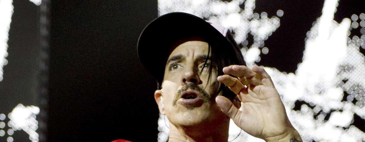Anthony Kiedis de la banda Red Hot Chili Peppers, cumplirá 50 años el 1 de noviembre.
