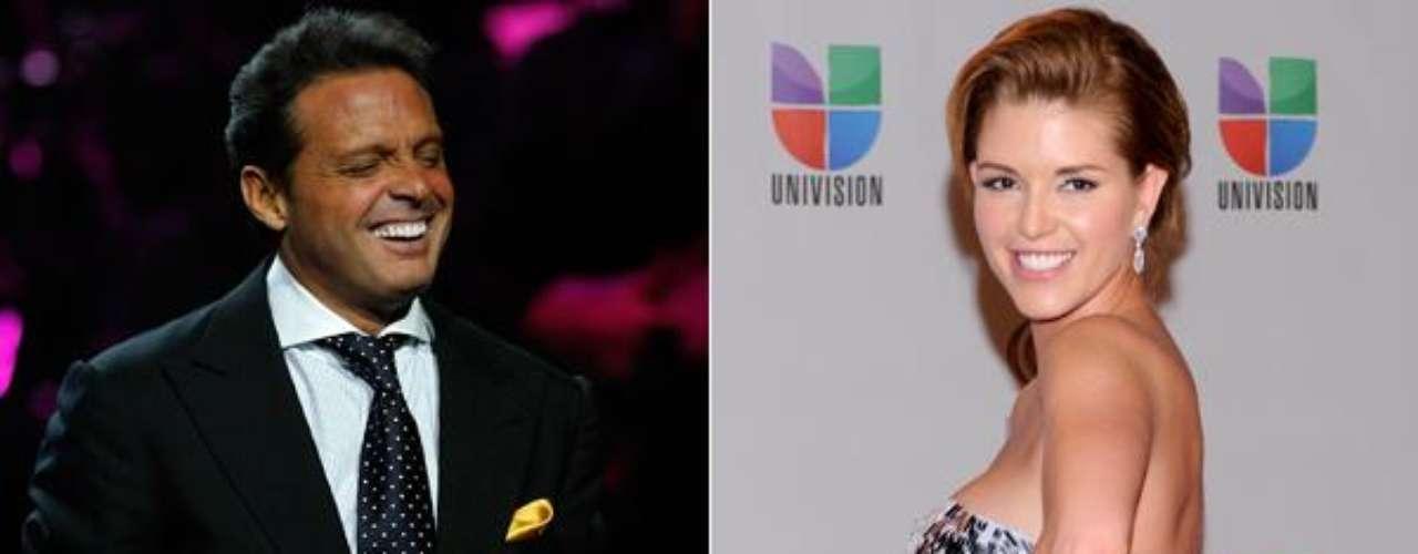 Cuando Alicia Machado ganó la corona de Miss Universo se rumoró que Luis Miguel había iniciado una relación con ella y que por eso había terminado con Daisy Fuentes.