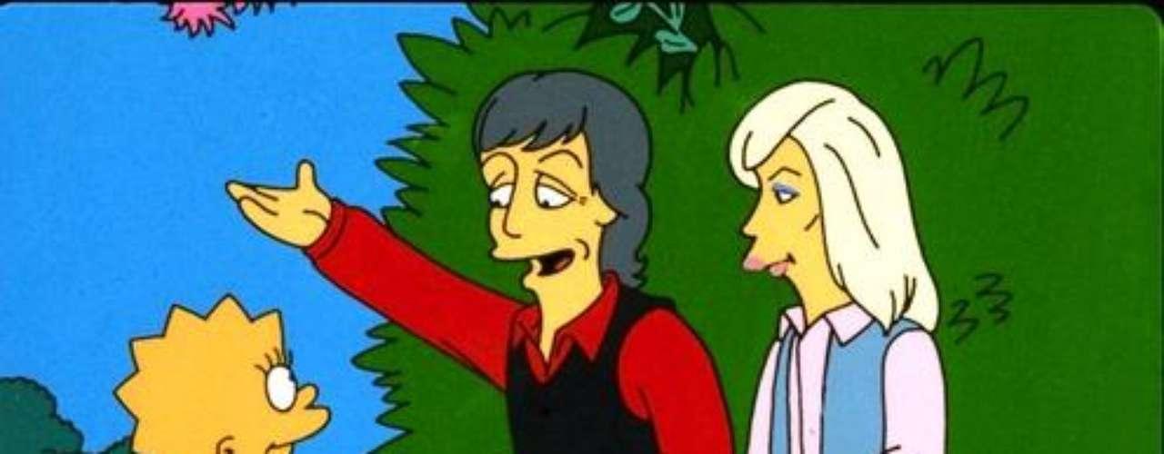 Paul McCartney, junto con su fallecida esposa Linda, apoyó el vegetarianismo de 'Lisa'.