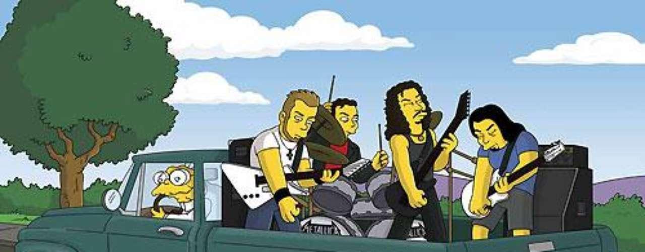 Metallica mostró todo su poderío en la camioneta de 'Juan Topo'.