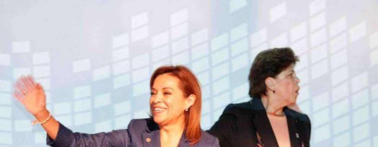 La candidata presidencial del PAN, Josefina Vázquez Mota, arrancó su campaña presidencial durante los primeros minutos del viernes 30 de marzo de 2012.