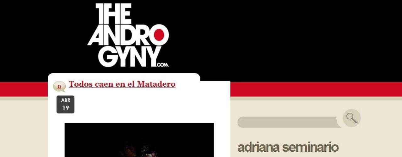 """Adriana sabe que esta segunda edición de la Semana de La Moda que empieza el 23 de abril será más producida, más grande. """"Va a marcar la pauta en Lima en lo que a moda se refiere"""", afirma. (Su blog: www.theandrogyny.com)"""