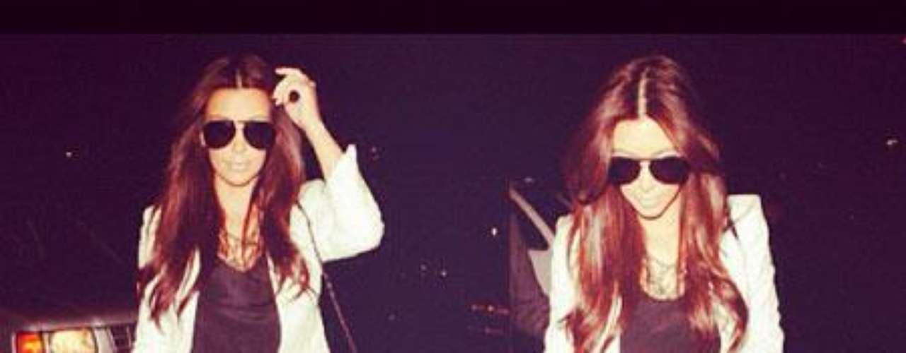 A Kim Kardashian también le gusta utilizar los filtros de Instagram