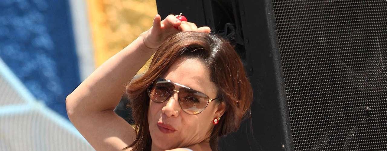 Lis Vega fue coronada Reina de los Tablaroqueros, en un acto en México, donde la diva lució totamente sensual para sus admiradores.