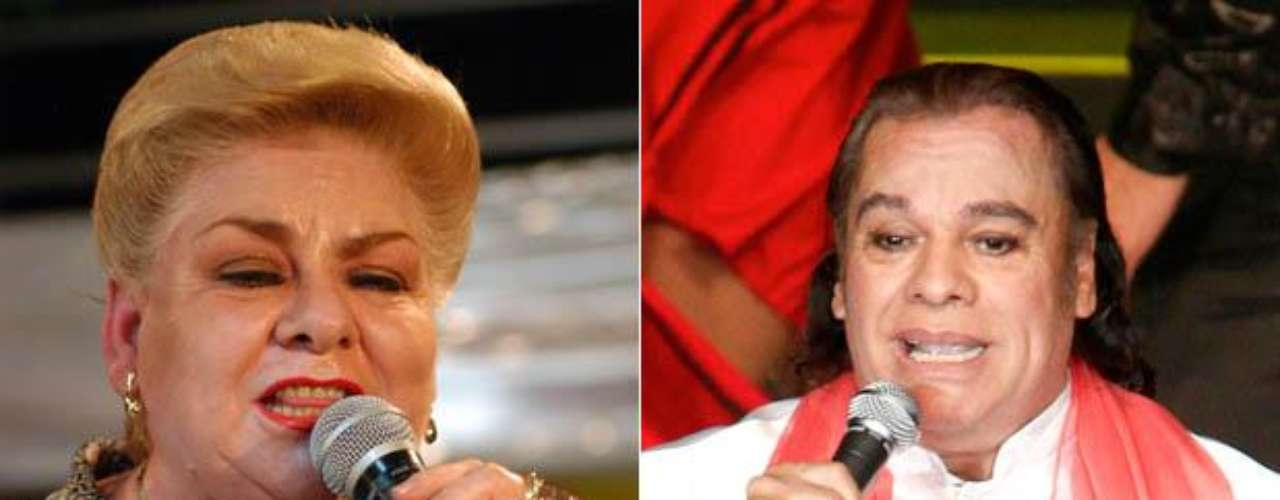 Paquita la del Barrio grabó un tema con Juan Gabriel. \