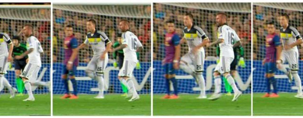 Terry fue expulsado por una falta ante el chileno Alexis Sánchez