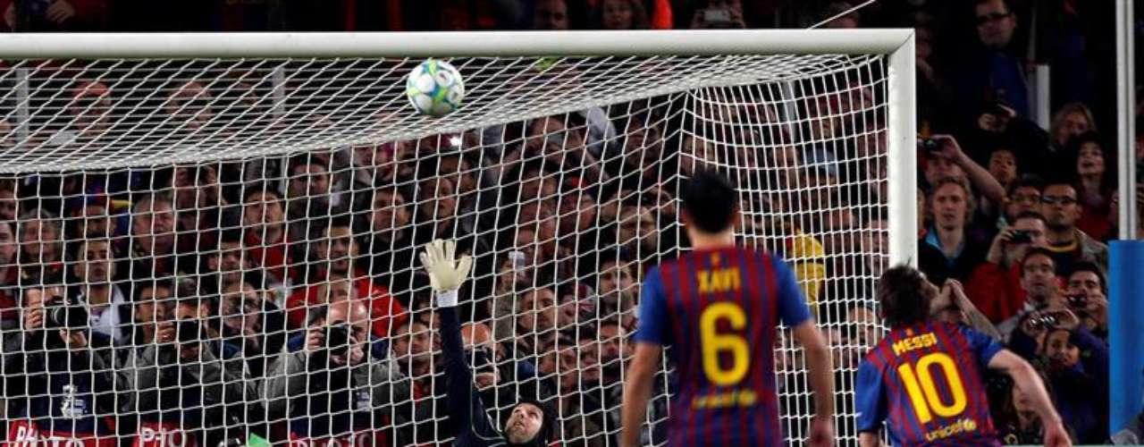 Messi erró un penal para el Barcelona, el cual era decisivo para el conjunto que dirige Guardiola.
