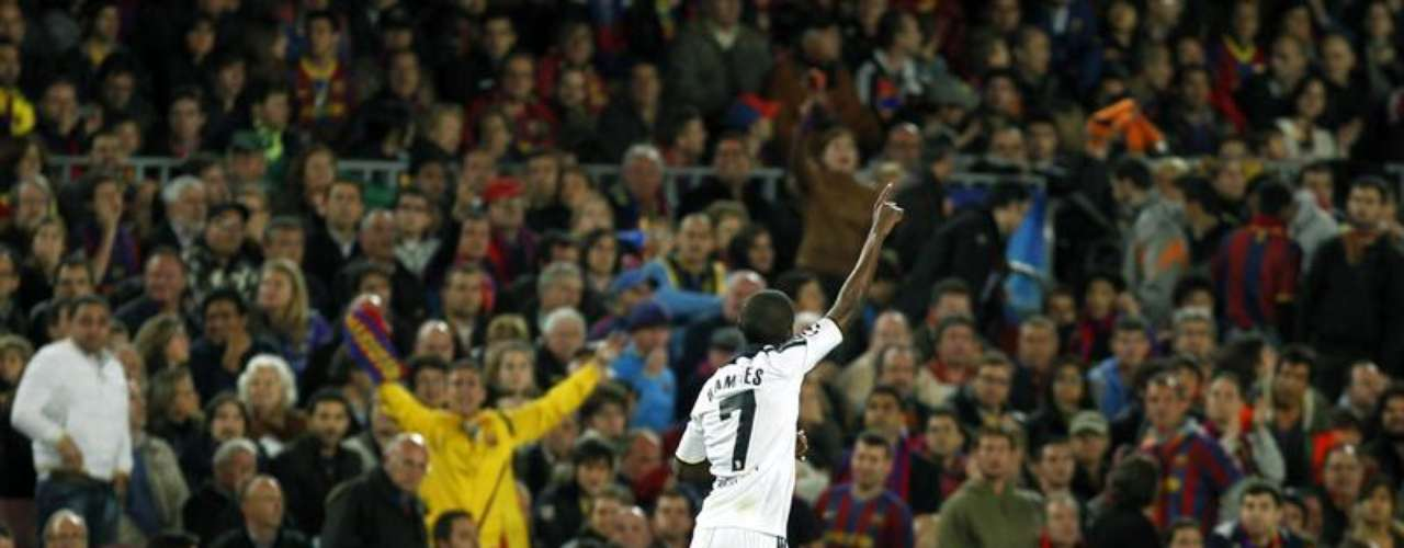 Ramires anotó el primer gol para Chelsea y puso el 2-1 parcial.