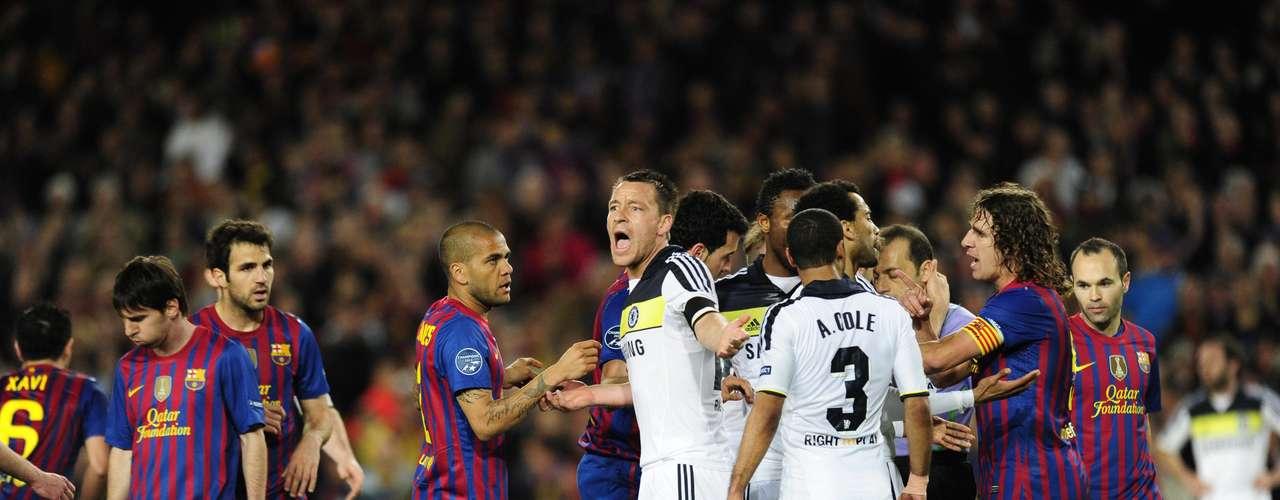 Barcelona quedó eliminado de la Liga de Campeones, al empatar 2-2 contra Chelsea en el juego de vuelta de las semifinales de la Champions en el Camp Nou. El marcador global terminó 3-2 a favor de los ingleses, que disputarán la final contra el Bayern de Múnich.