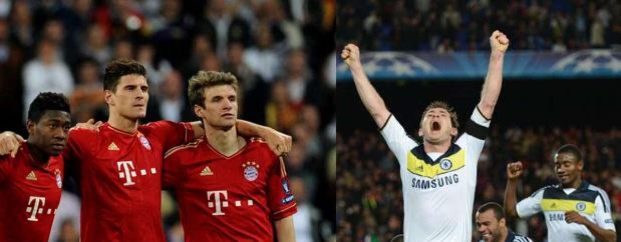 El duelo en el Alianz Arena de Múnich será el primero entre el Chelsea y el Bayern por el máximo título continental de clubes- la Liga de Campeones-.