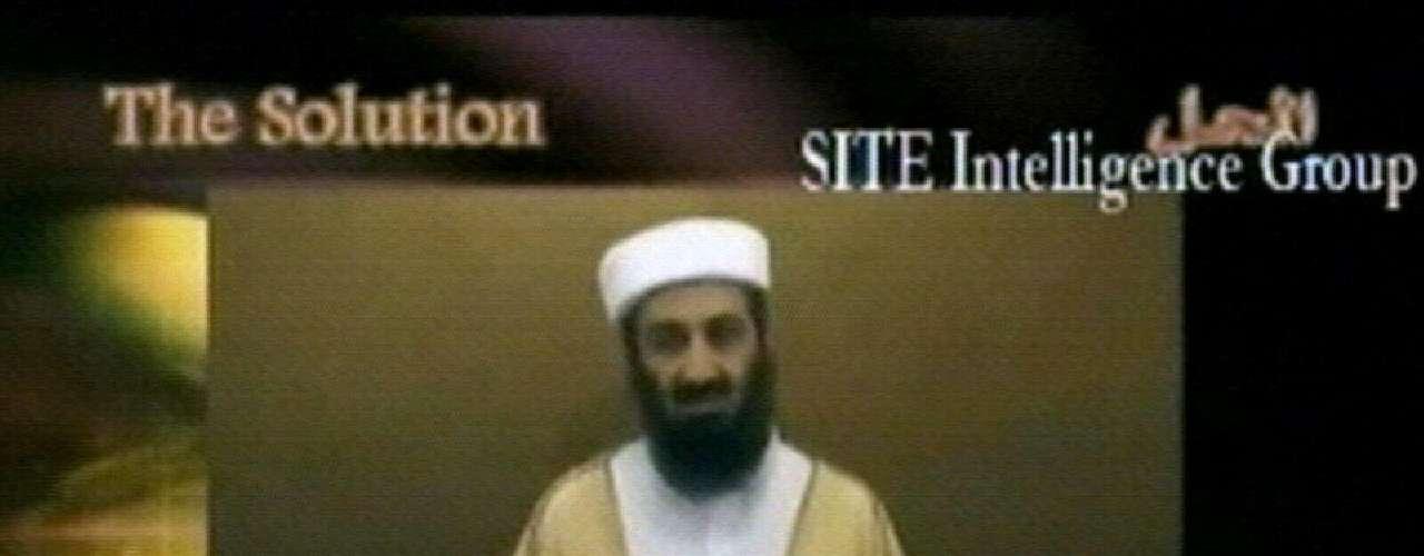 Así lucía Osama bin Laden el un video que dio a conocer Al Qaeda el 07 de septiembre del 2007.