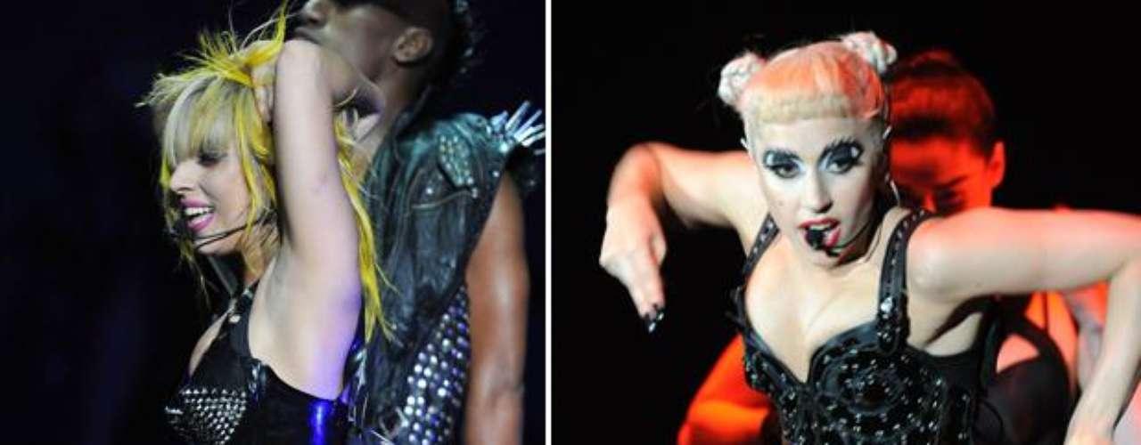 En detalle los tatuajes de Lady Gaga, un rosal y unicornio.