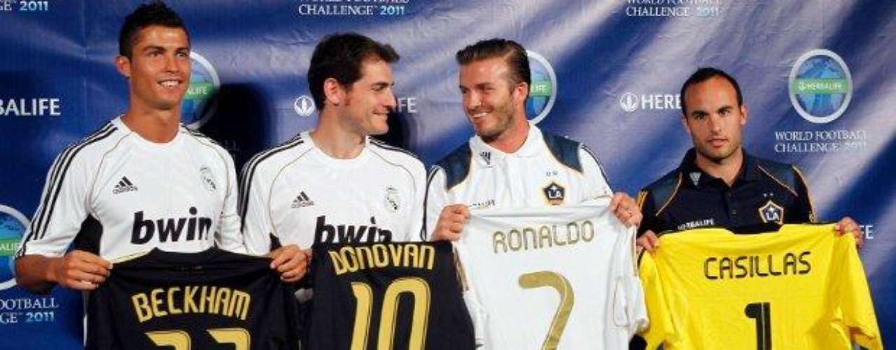 Con el Real Madrid hizo buenos amigos.