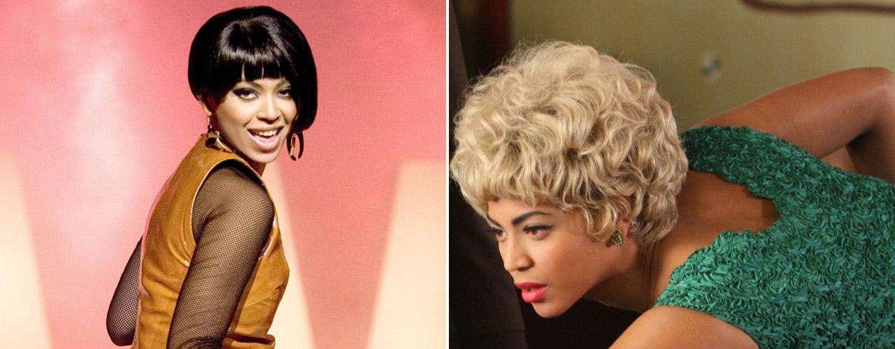 En 2006, Beyoncé tuvo que bajar varios kilos para protagonizar la cinta 'Soñadoras' (2006). No perdió su curvilínea figura, pero años más tarde debió subir de peso nuevamente para dar vida a la mítica 'Etta James' en 'Cadillacs Records' (2008).