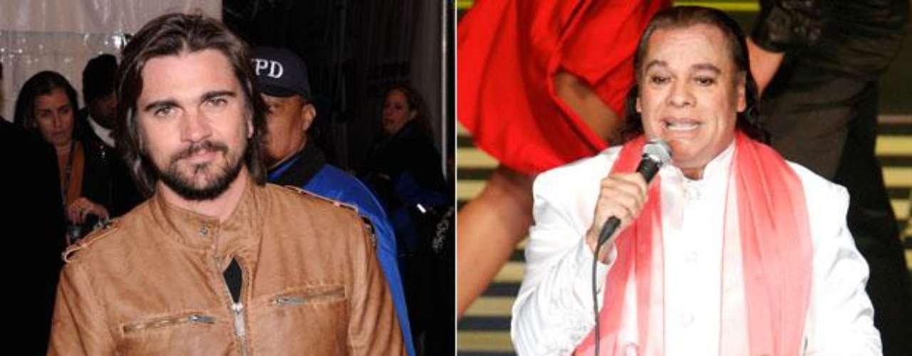 """Juan Gabriel recientemente anunció que realizará un dúo con Juanes para su próximo disco, al confirmarse la colaboración, el cantante colombiano empezó a brincar en un pie de la emoción y hasta dijo que lo dejaría todo por """"El Divo de Juárez"""". """"Aunque estuviera en gira, suspendería lo que fuera con tal de participar con él, creo que sería una oportunidad de gran aprendizaje\"""