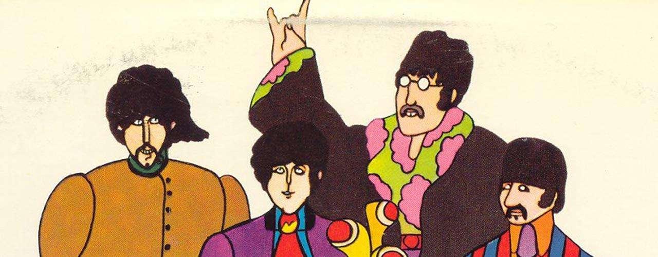 Otra imagen que han tratado de sostener es referente a la mano sobre la cabeza de Paul en 'Yellow Submarine', frases como: \