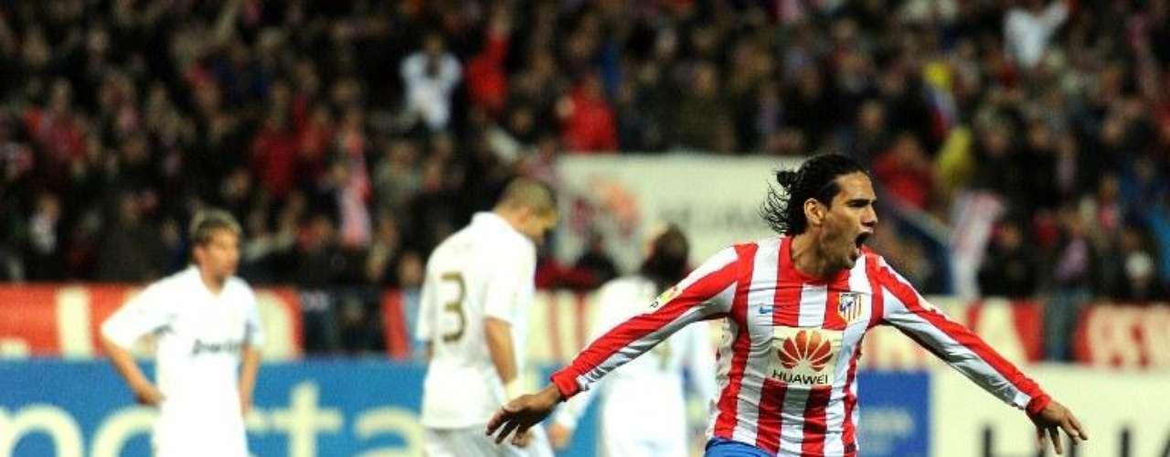 Falcao también le marcó al Real Madrid en la fecha 33 de la Liga española
