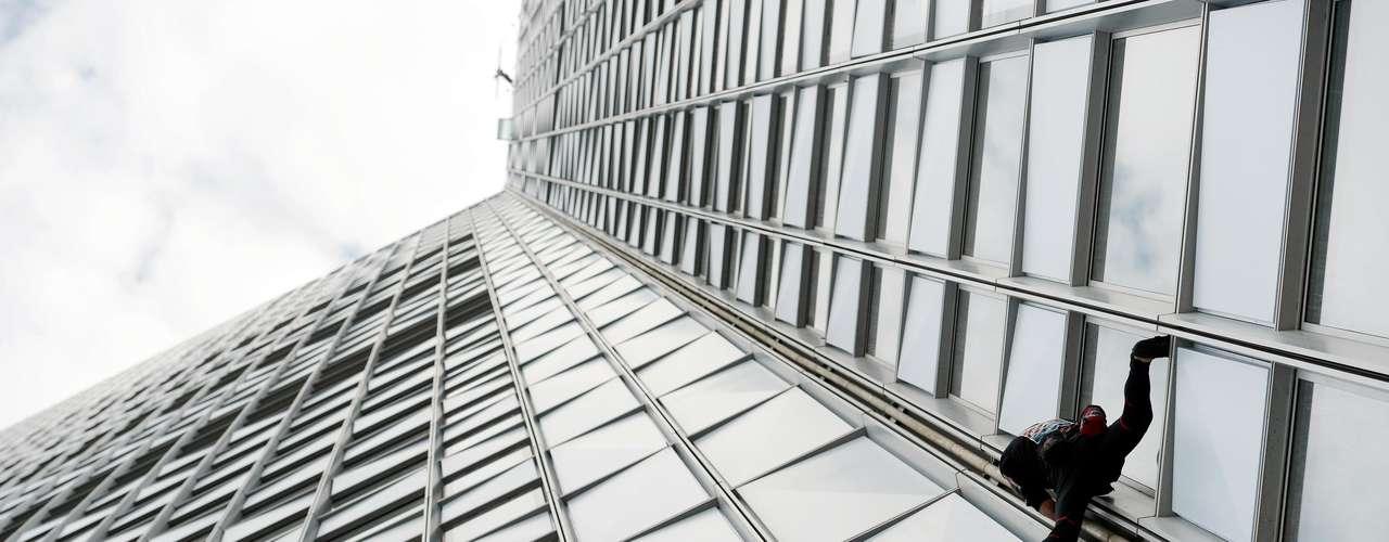 El escalador de rascacielos francés conocido por algunos como \