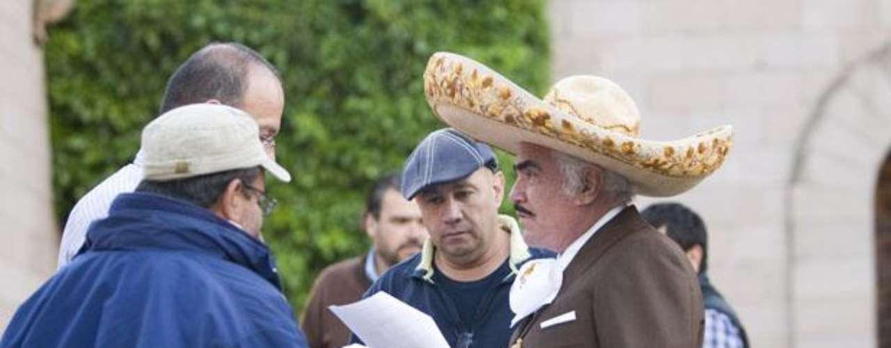 Vicente Fernández tendrá una participación especial en la telenovela \