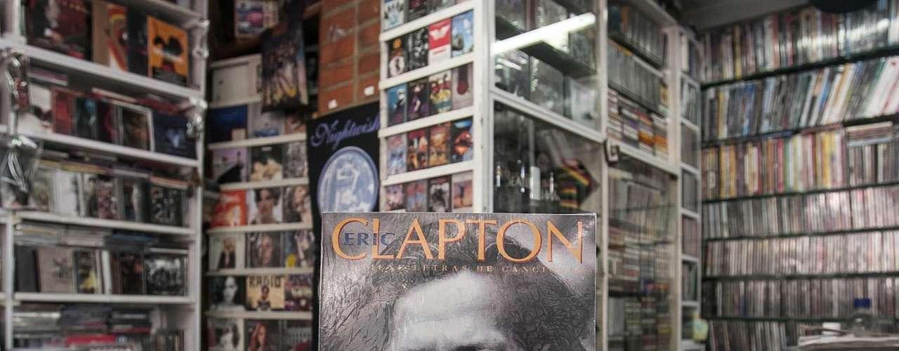 Eric Clapton - Contiene letras de canciones. Vicente Escudero.