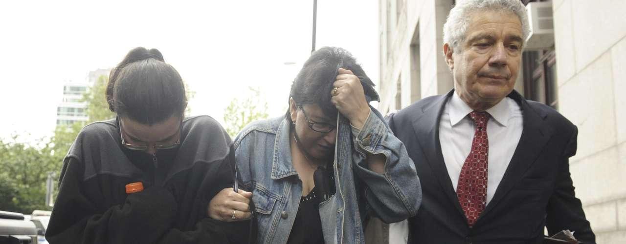 El caso comenzó aclararse luego de que Hernández confesara su crimen y su detención se hiciera pública este jueves, justamente en la víspera de la fecha en que se cumplen 33 años de la desaparición de Patz en el barrio de SoHo, en Manhattan. En la foto familiares de Pedro Hernández.