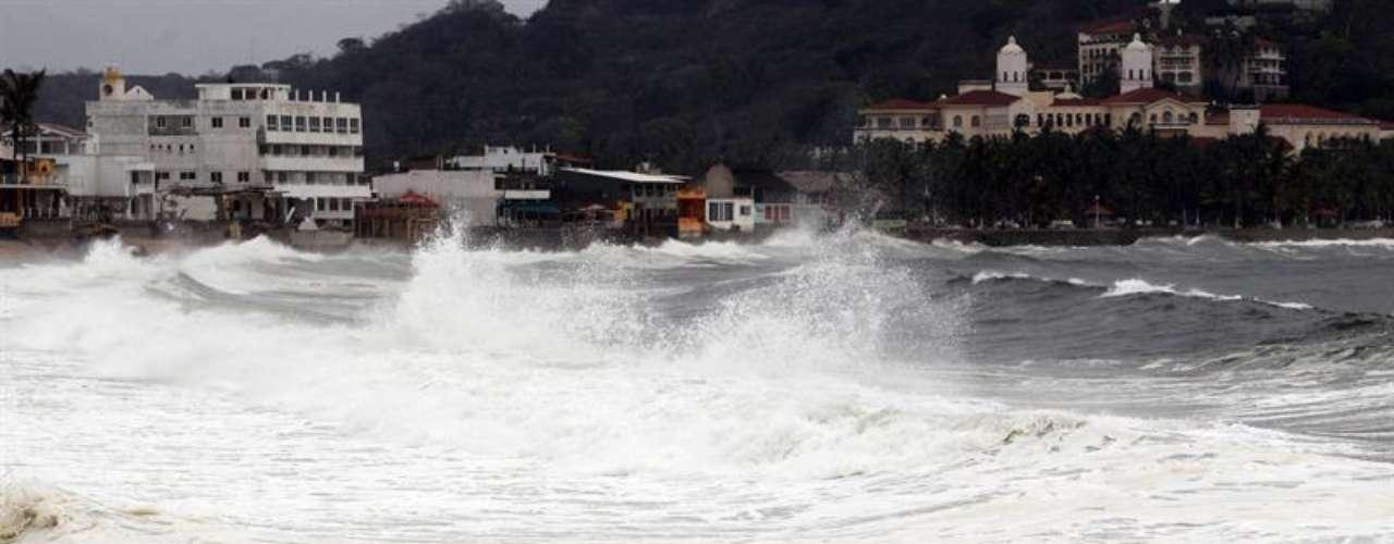 A diferencia de los intensos huracanes que llegan a México por la cuenca del Atlántico, \
