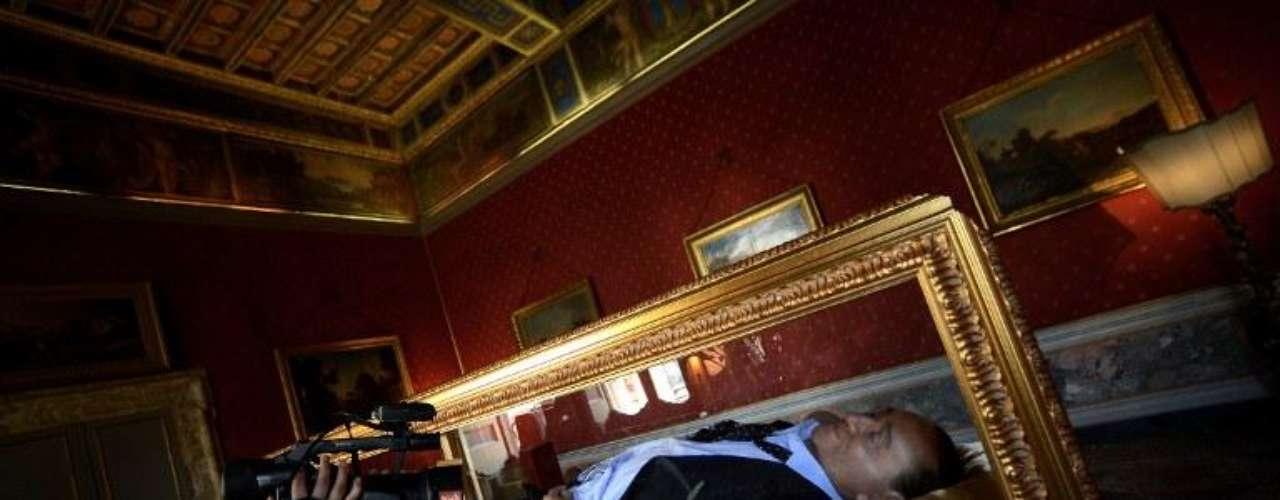 Ambos elaboraron su creación entre 2010 y 2011 y, desde ayer, se expone en la sala del edificio céntrico.