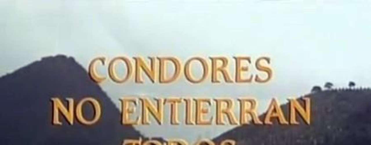 En la cinta 'Cóndores No Entierran Todos los Días', actrices de la talla de la colombiana Vicky Hernández se deja seducir por el desnudo. Imagen de la cinta 'Cóndores No Entierran Todos los Días'