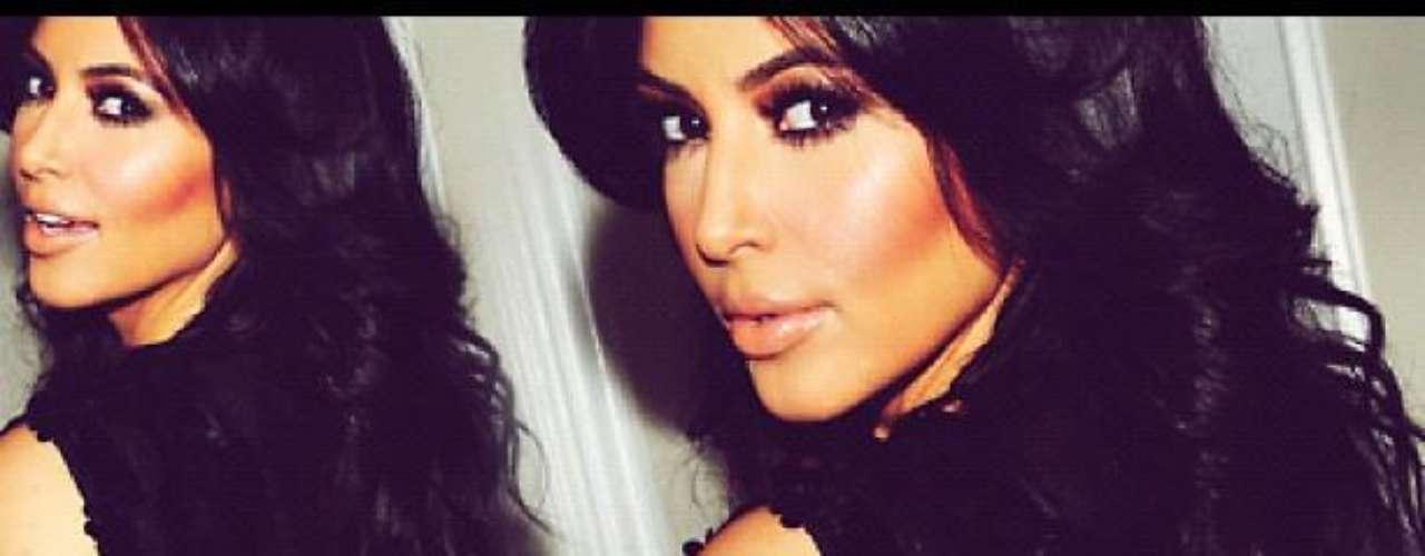¿Cuál les gusta más? ¿La Kim angelical o la Kim traviesa? ¡Las dos son espectaculares!