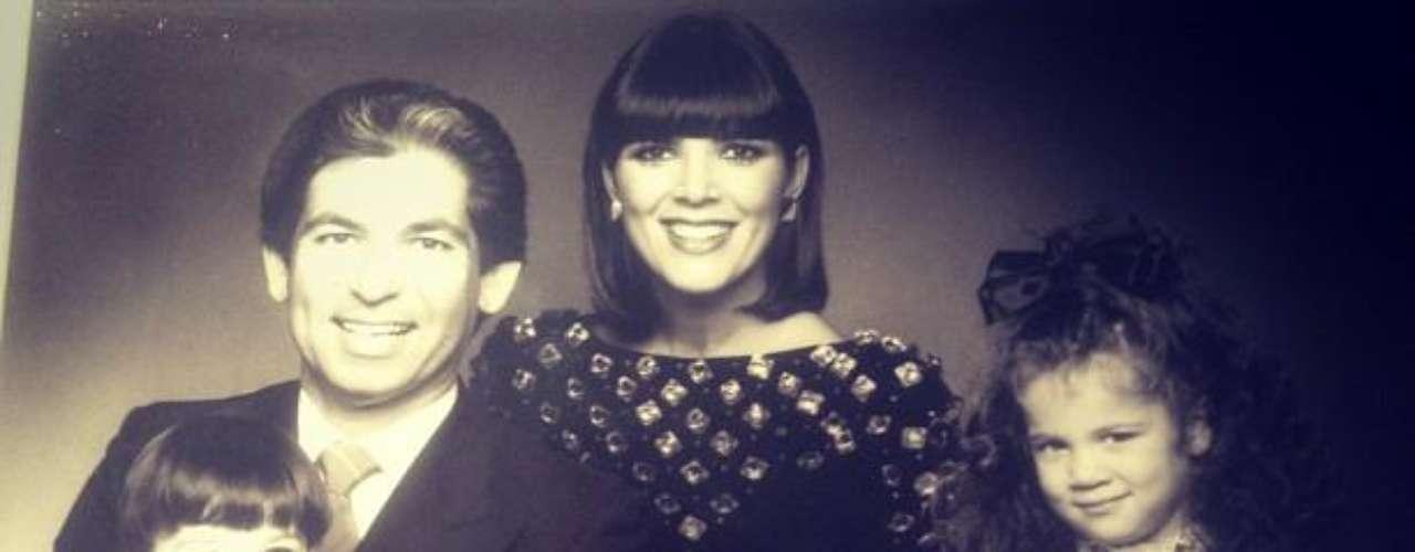 La familia Kardashian completa hace ya algunos años atrás
