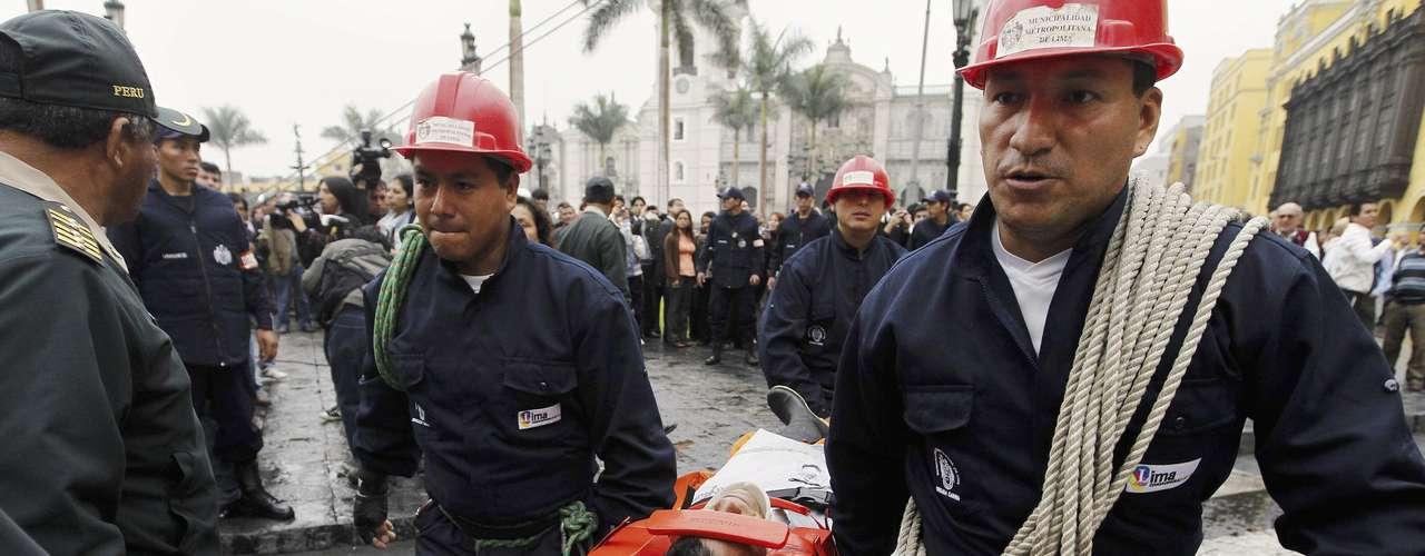 La cifra de muertos y viviendas dañadas surgió luego del informe de los 43 distritos de Lima a la central de operaciones de emergencias.