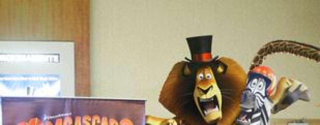 Mariella Zanetti en el estreno de Madagascar 3.