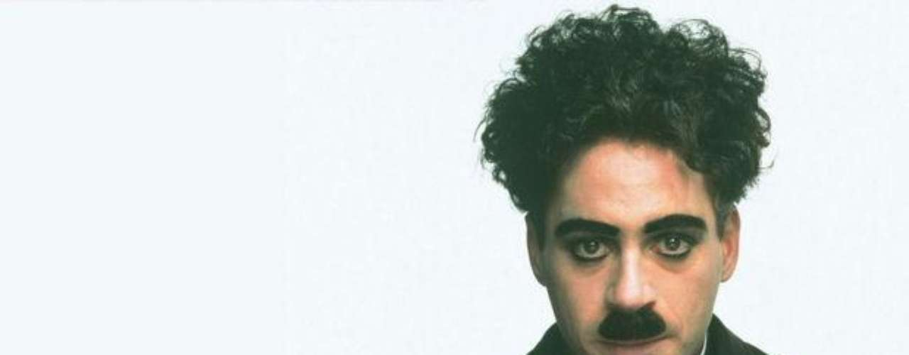 Robert Downey Jr. interpretó a Charles Chaplin.