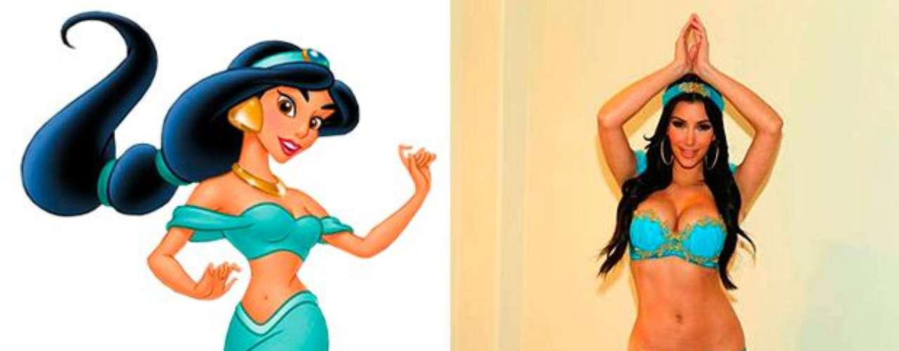 Kim Kardashian - Princess Jasmine