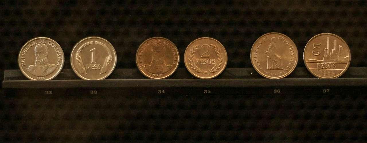 Estas son las monedas del pasado inmediato.