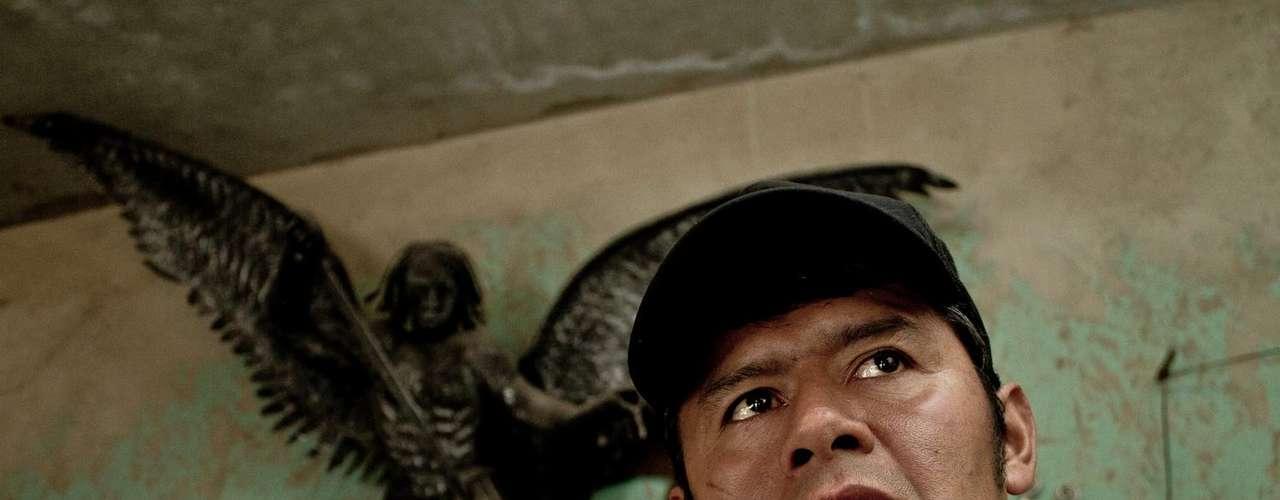 Javier se considera una persona afortunada, ya que ha podido realizar sus sueños.