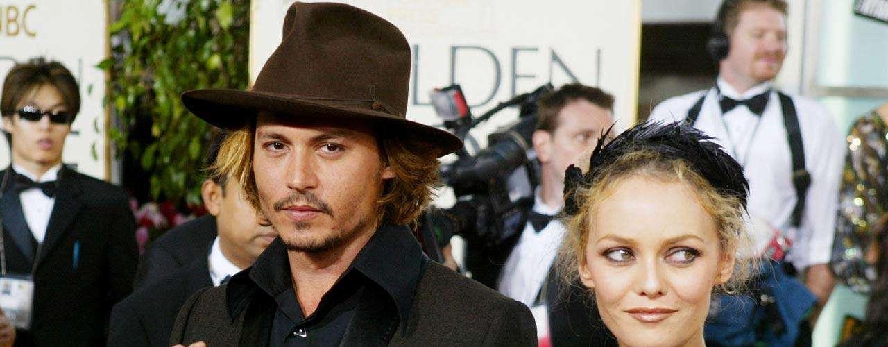 Johnny Depp encontró más que el amor de pareja en Vanessa, también compartieron el gusto por la extravagancia al vestir.