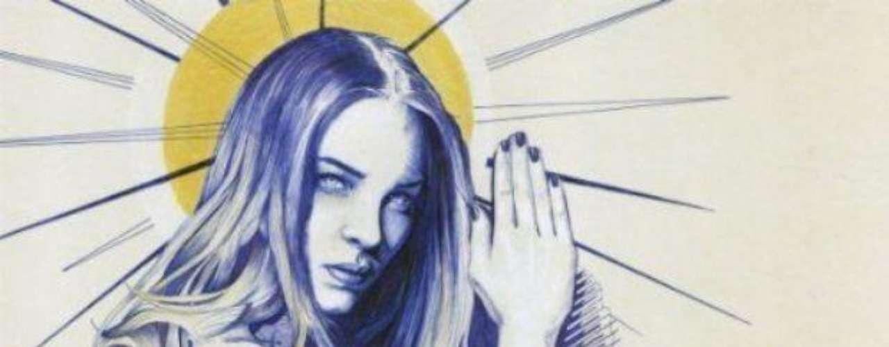 """Belinda aparece sin nada de ropa en la portada de su nuevo single """"En El Amor Hay Que Perdonar""""."""